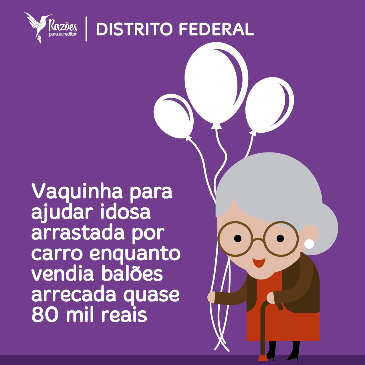 boas notícias ilustrações razões para acreditar - Distrito Federal