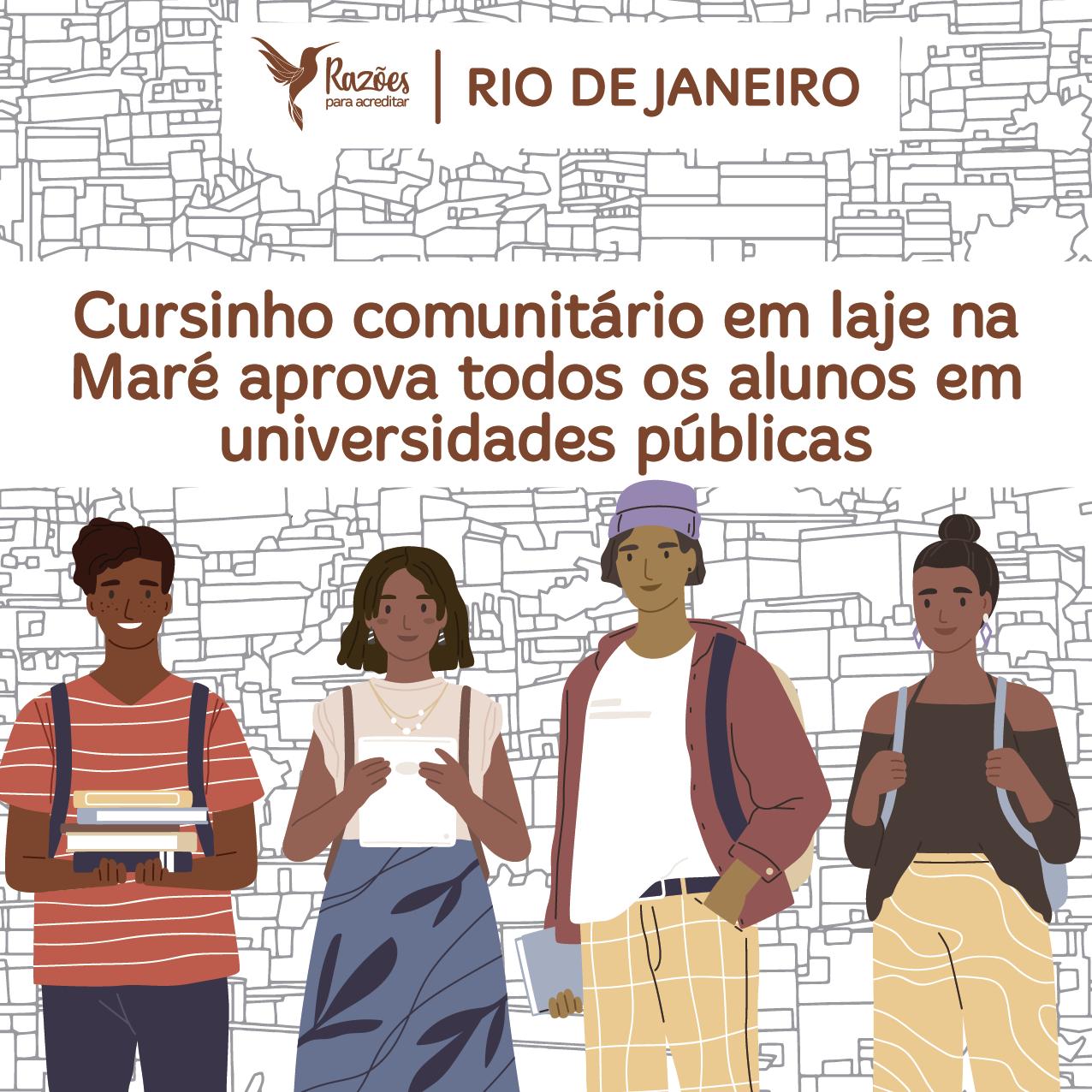 boas notícias ilustrações razões para acreditar - Rio de Janeiro