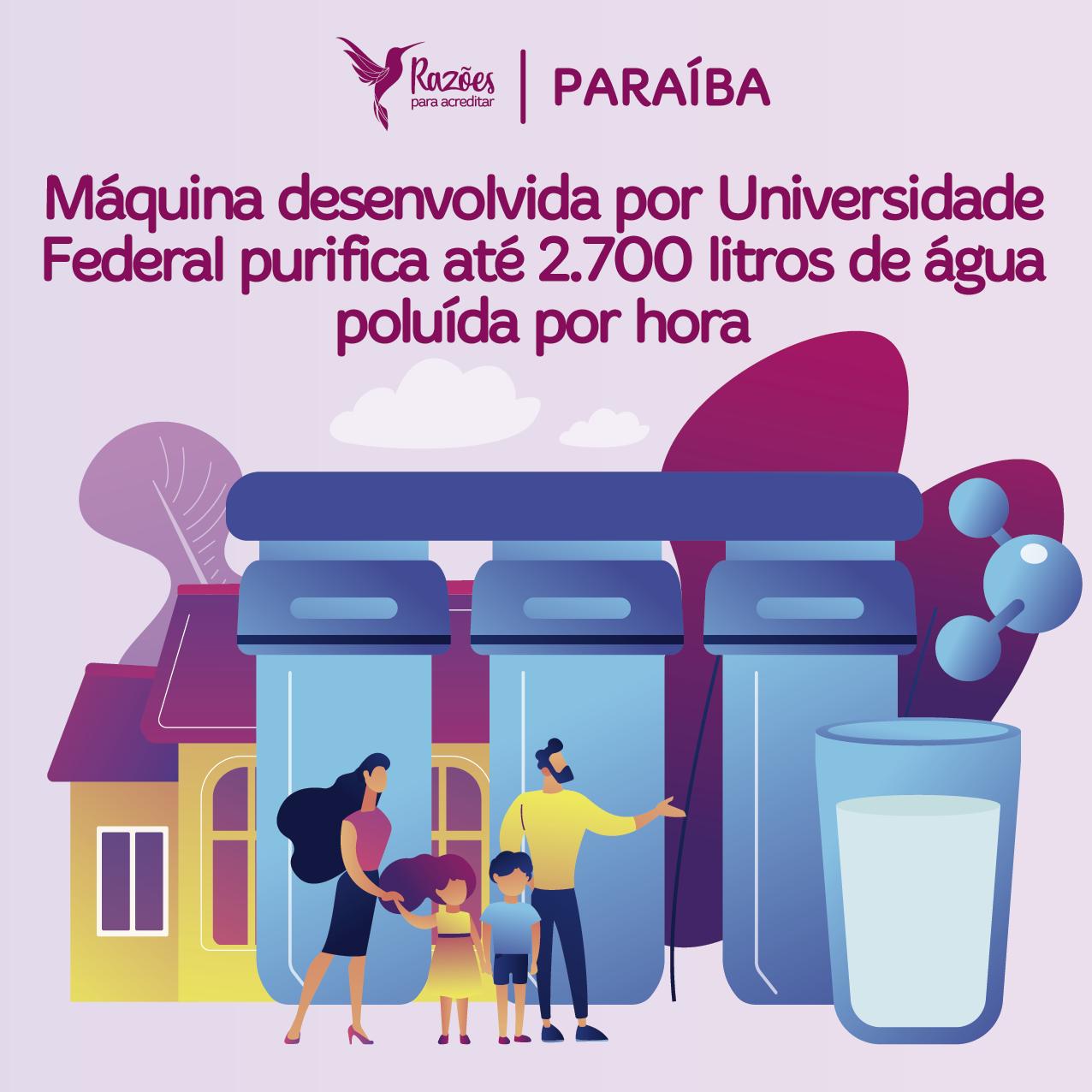 boas notícias ilustrações razões para acreditar Paraíba