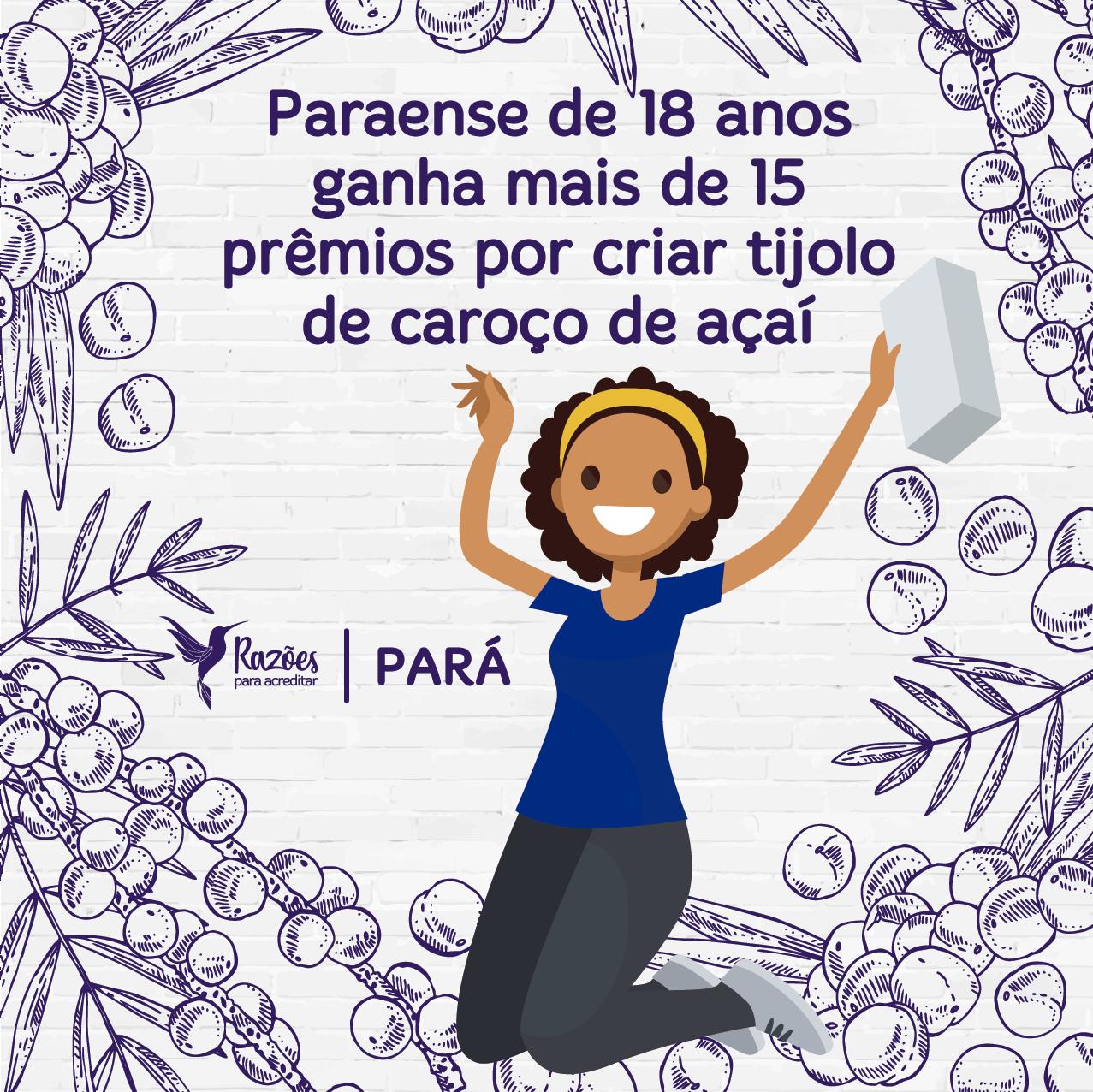 boas notícias ilustrações razões para acreditar - Pará