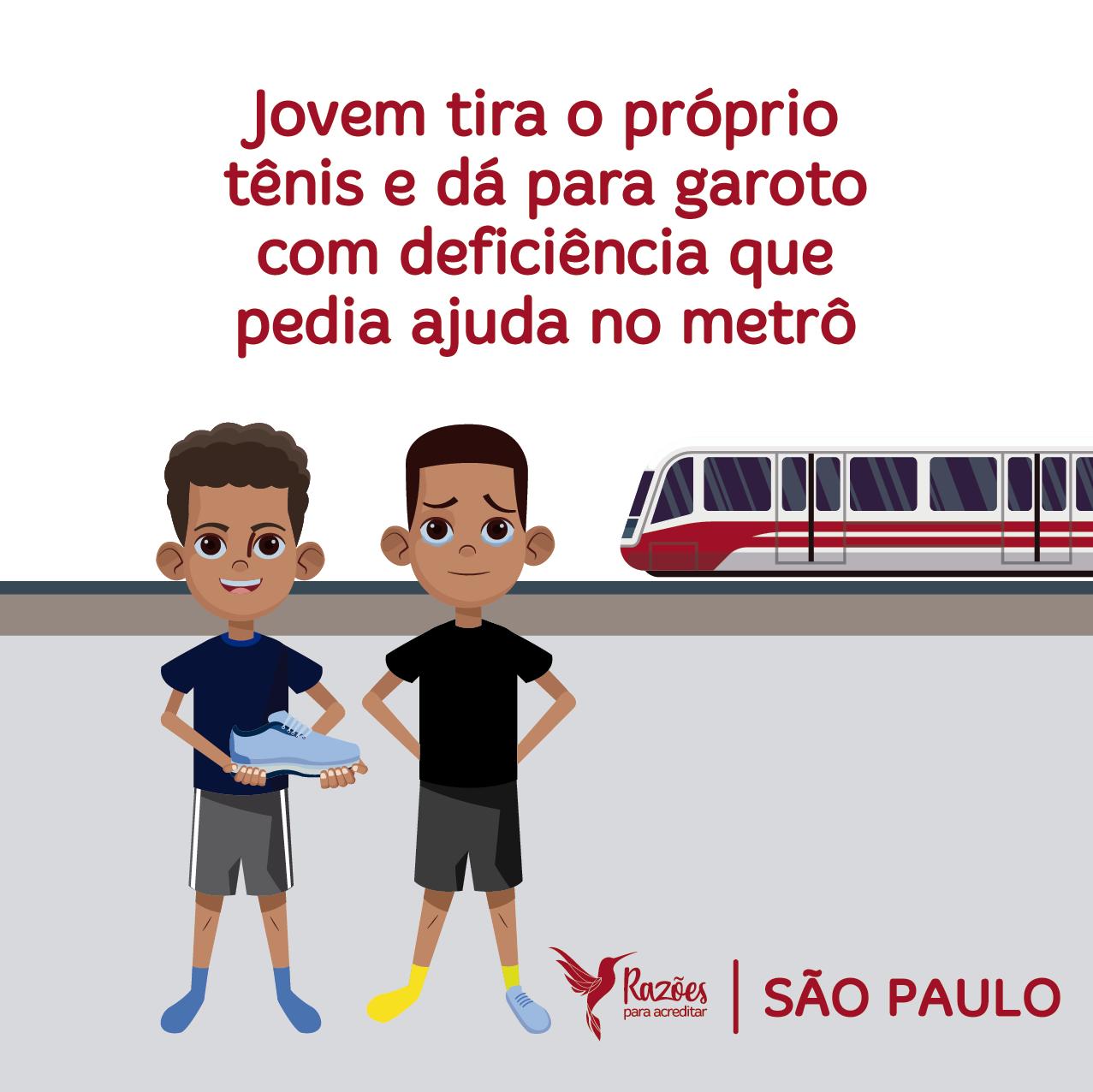 boas notícias ilustrações razões para acreditar São Paulo