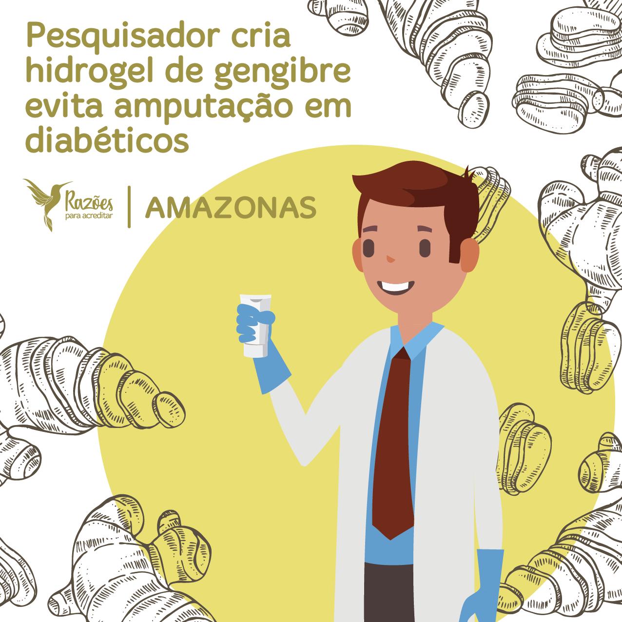 boas notícias ilustrações razões para acreditar - amazonas