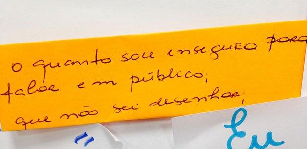 iniciativa diálogo entre professores e alunos