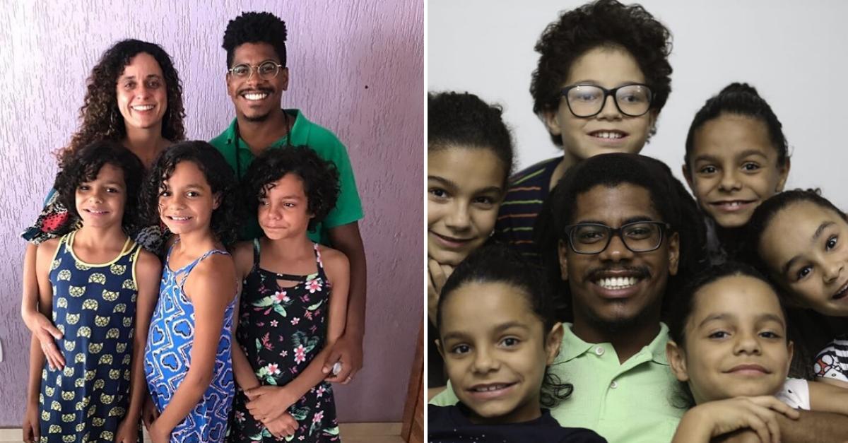 Casal adota 6 irmãos e realiza a maior adoção do Distrito Federal 1