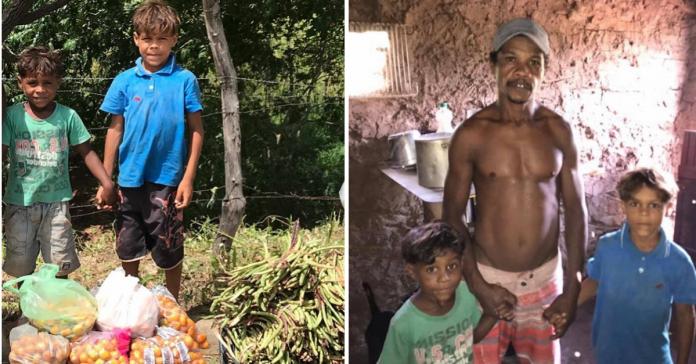 Radialista cria vaquinha para ajudar irmãos que vendem feijão na estrada para o sustento de casa 1