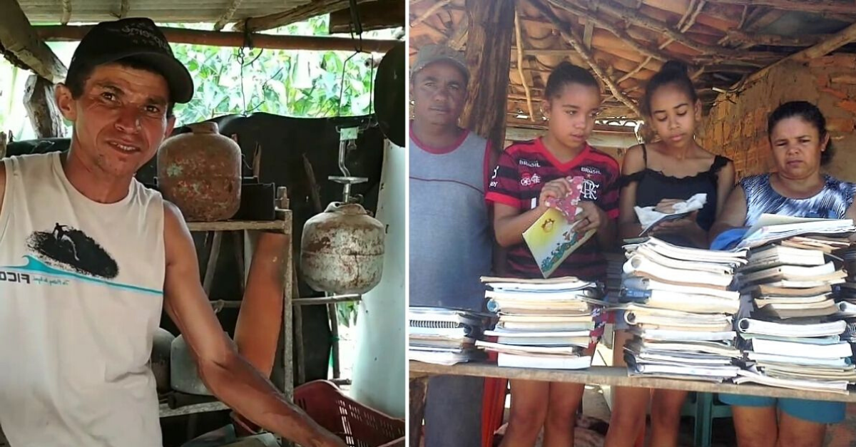 Líder comunitário analfabeto sonha construir biblioteca rural para melhorar educação na comunidade