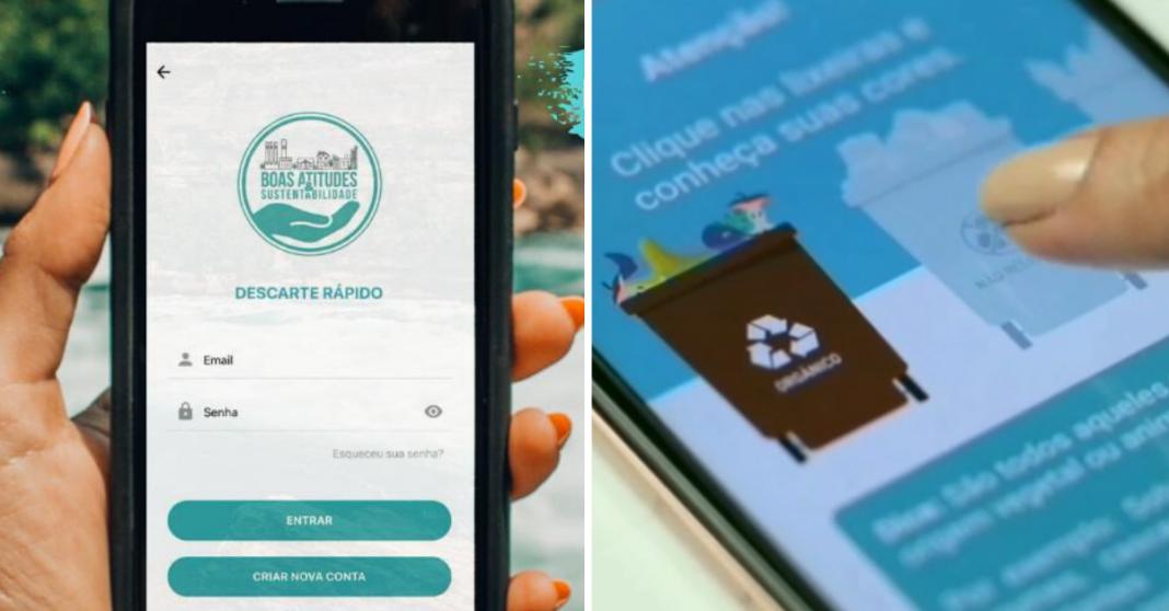 Para o descarte correto do lixo, startup cria aplicativo que indica pontos de coleta de todo o país