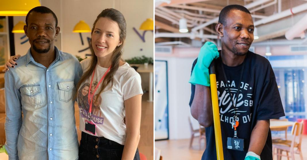 Funcionários fazem vaquinha para trazer filhas de angolano para o Brasil