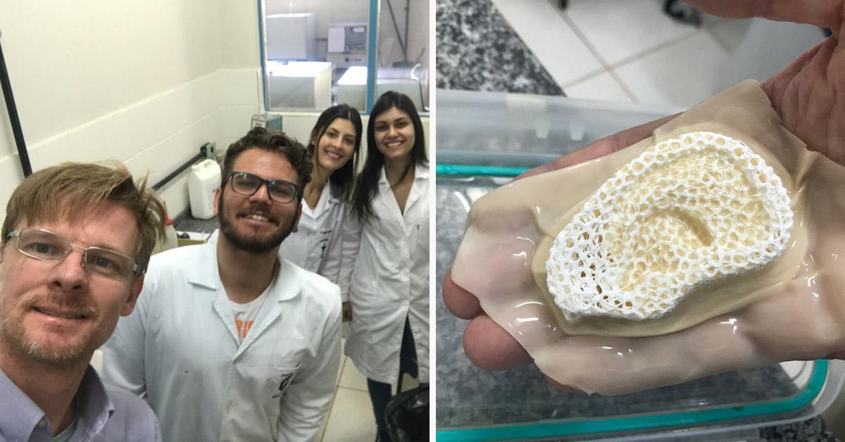 Pesquisadores do Paraná criam membrana capaz de desenvolver pele e ossos 4