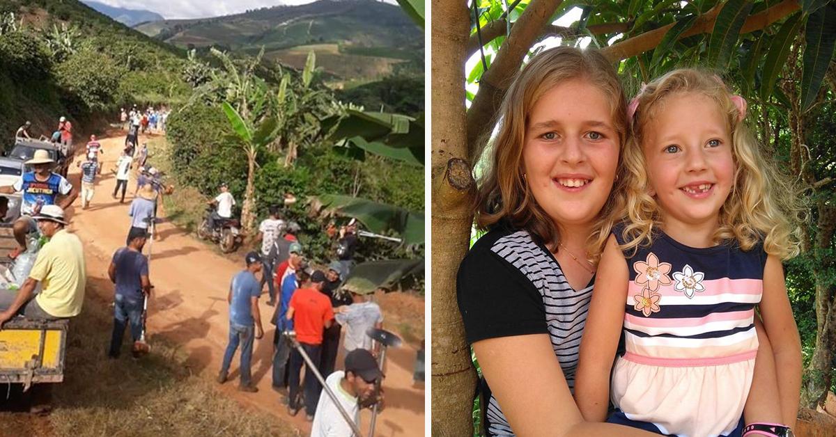 Vizinhos cuidam da lavoura de família que busca tratamento para filhas 4