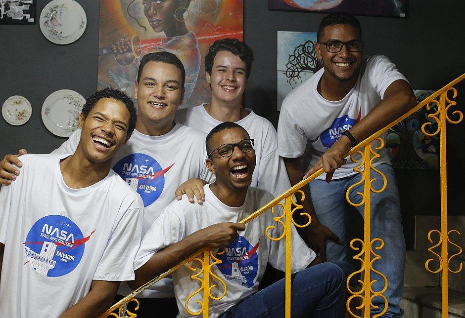Estudantes baianos vencem torneio mundial da NASA