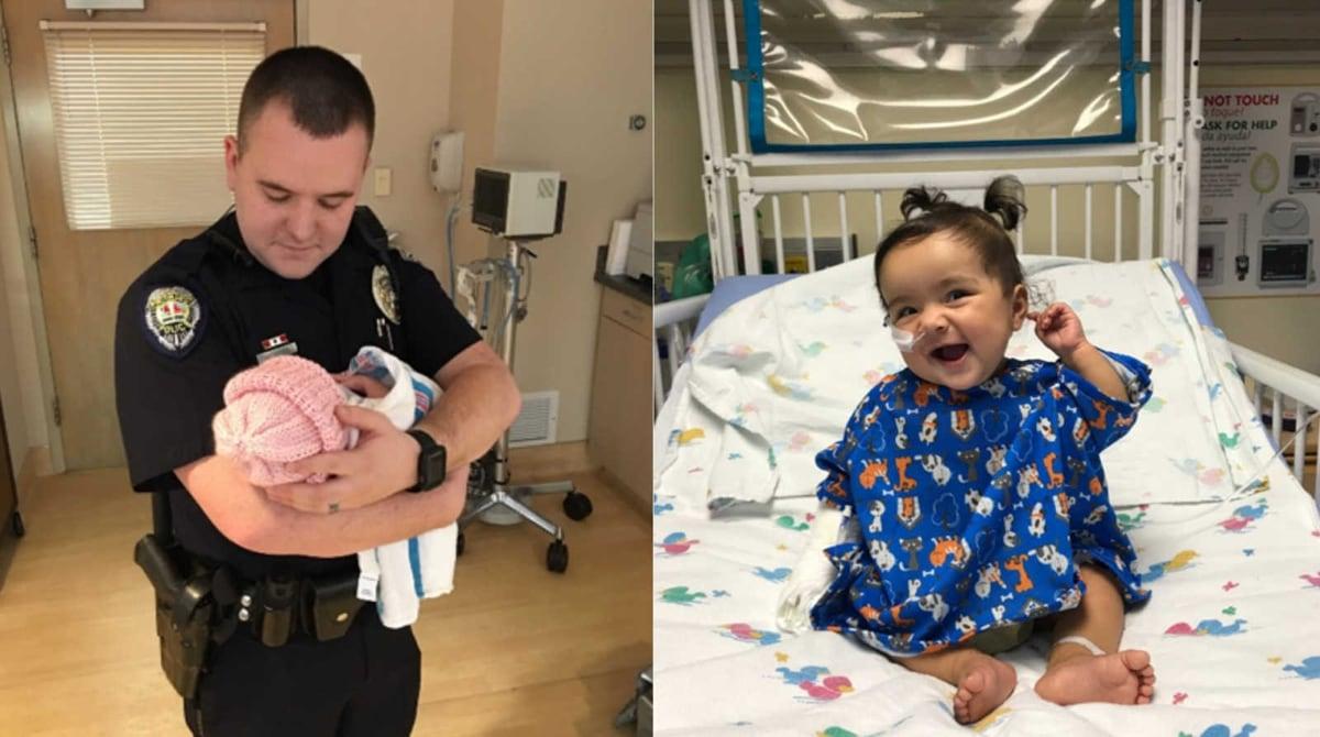 Casal adota bebê com deficiência abandonada em hospital