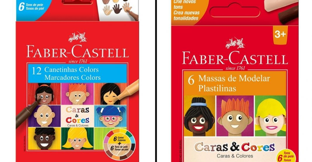 Faber-Castell amplia linha de produtos com diferentes tons de pele 1