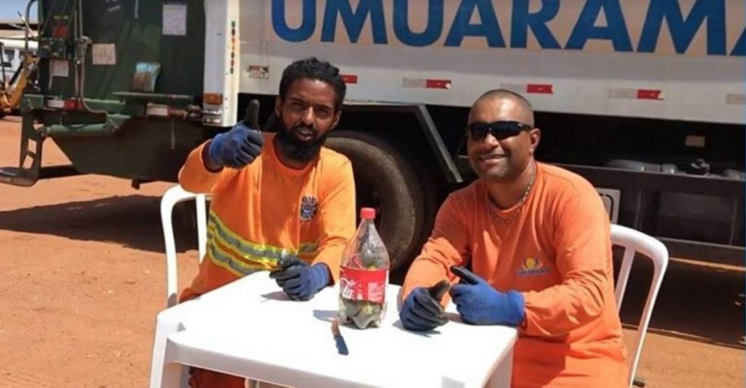 Coletores de lixo tutorial descarte de vidro