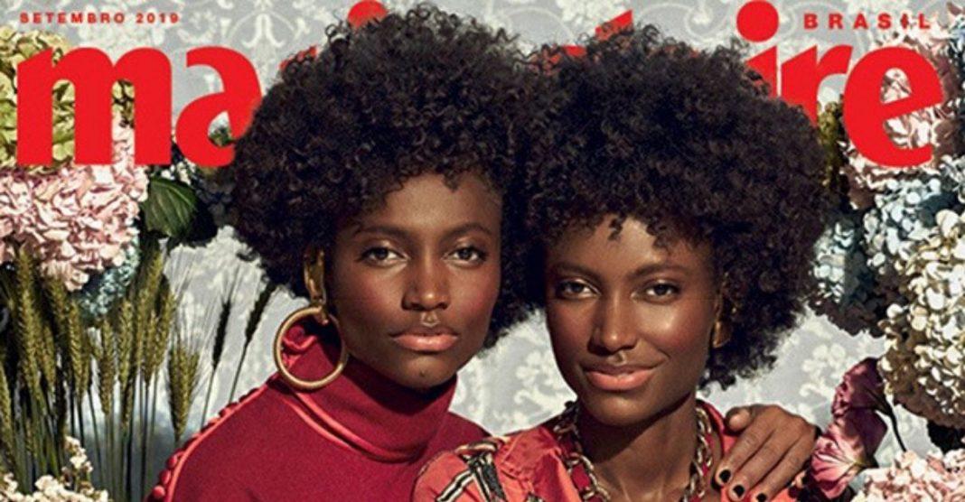 Yaci e Yara modelos filhas quilombolas maranhenses