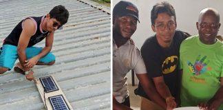 Ex-catador de latinhas leva luz a escolas africanas