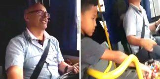Motorista conquista passageiros com gentileza e balinhas em ônibus de SP