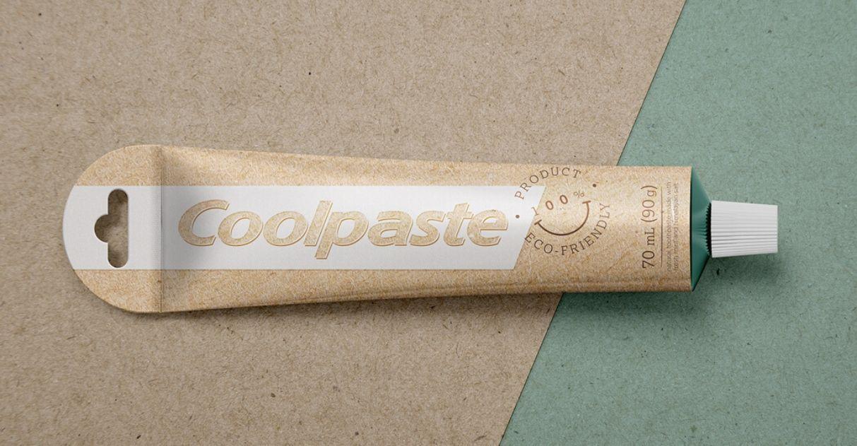 designer ufmg embalagem sustentável pasta de dente coolpaste