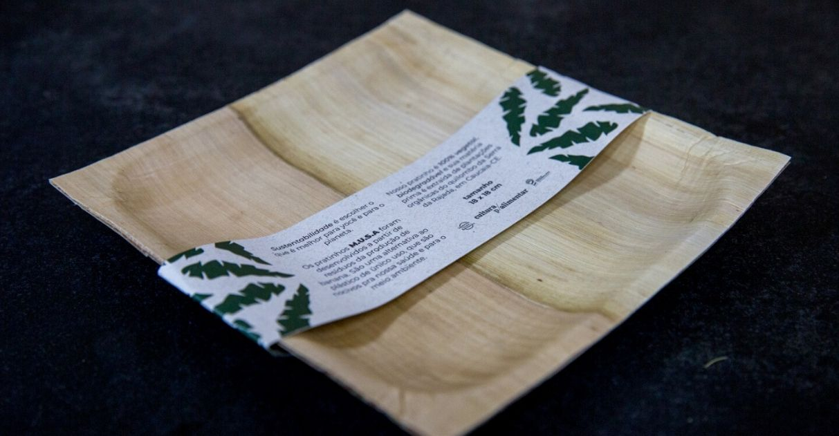 cearense cria prato biodegradável feito bananeira quilombo