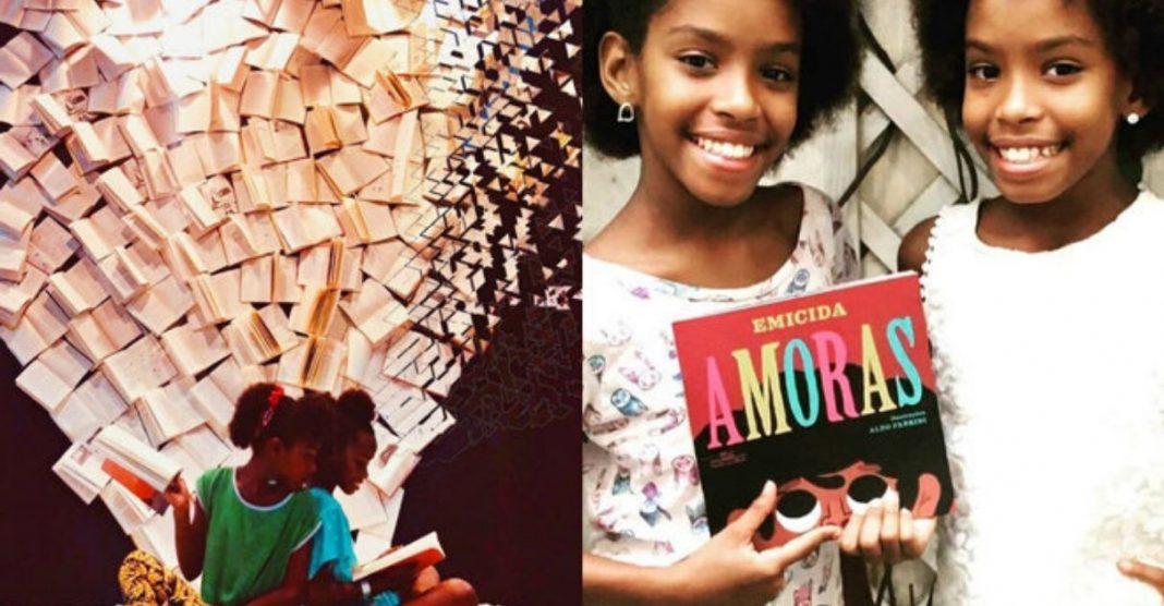 Gêmeas criam projeto leitura combater violência favela RJ