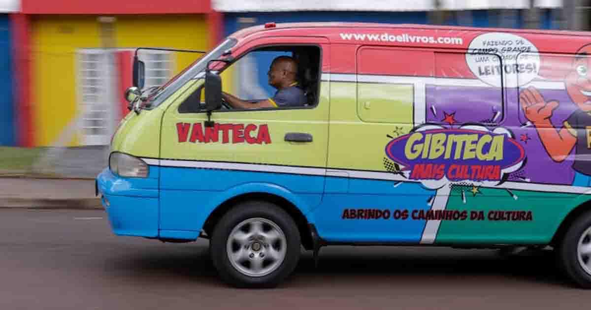 Professor investe o próprio salário em Vanteca para fomentar leitura em Campo Grande (MS) 1