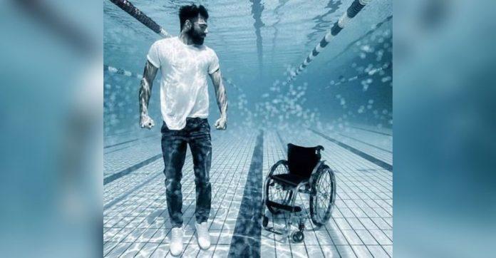 Fotografia nadador paraolímpico viraliza