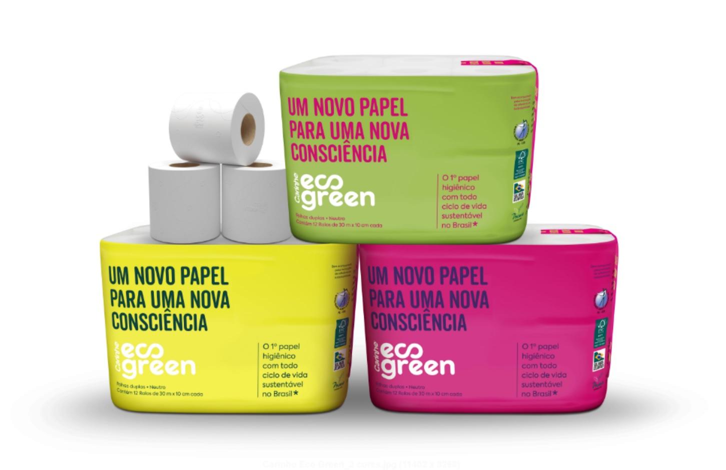 Papel higiênico sustentável que vira adubo