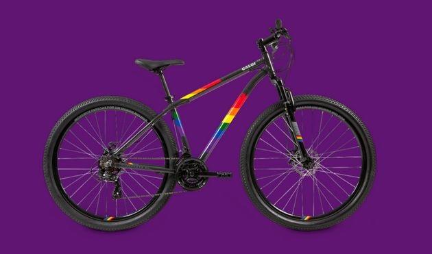 Caloi lança bicicleta 'Rainbow' apoio comunidade lgbt