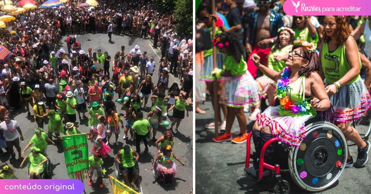 Resultado de imagem para Bloco de carnaval de BH tem bateria formada por pessoas com deficiência