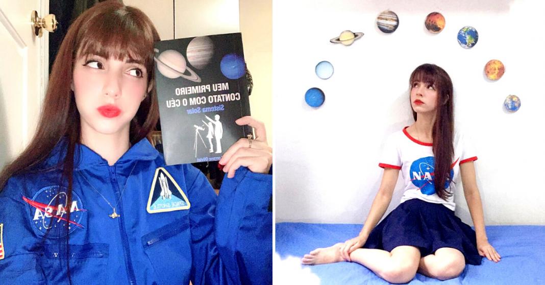 Jovem astrônoma leva ciência às escolas e mostra que lugar de mulher também é nas estrelas!