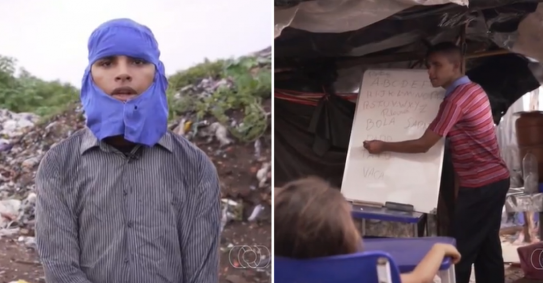 Jovem cria escola de lona para alunos carentes em Tocantins e internautas criam vaquinha 1