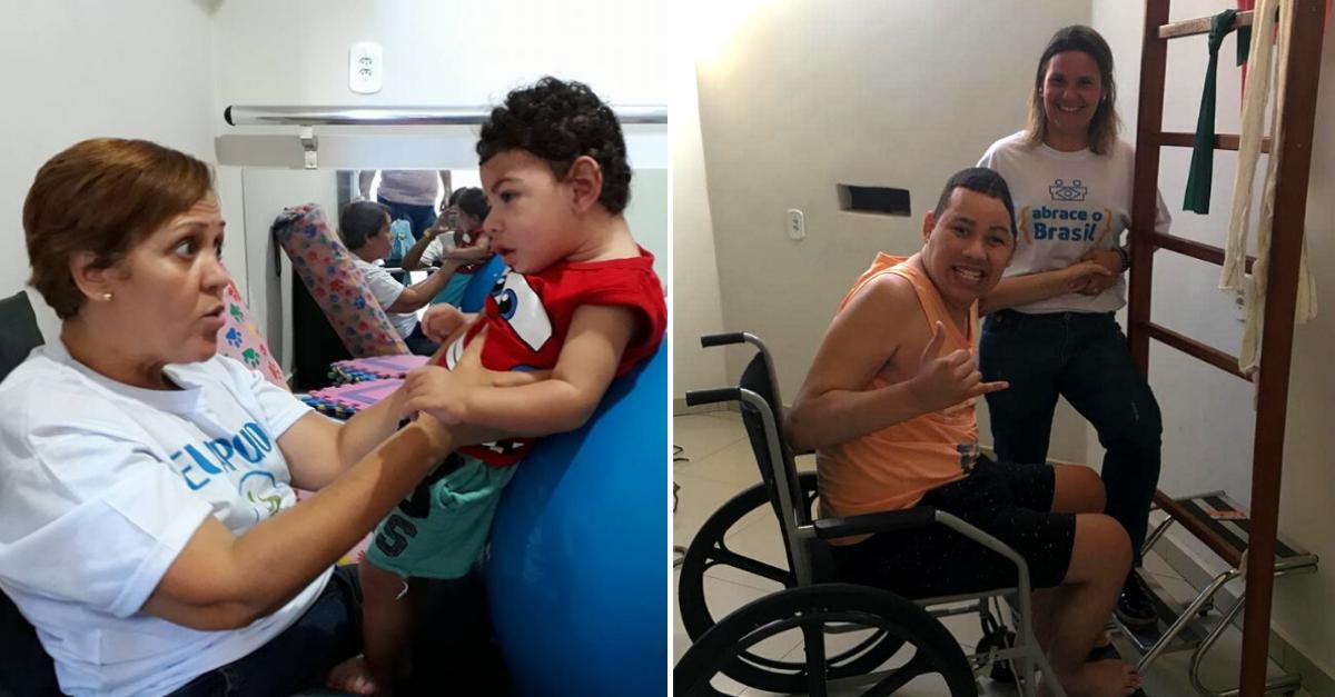 Fisioterapeuta atende gratuitamente vítimas de violência no Complexo do Alemão