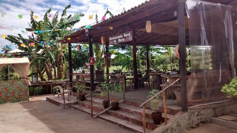 Restaurante rural da comunidade Chã de Jardim