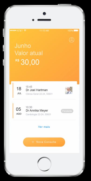 Aplicativo que usa economia compartilhada para democratizar preço de consultas médicas