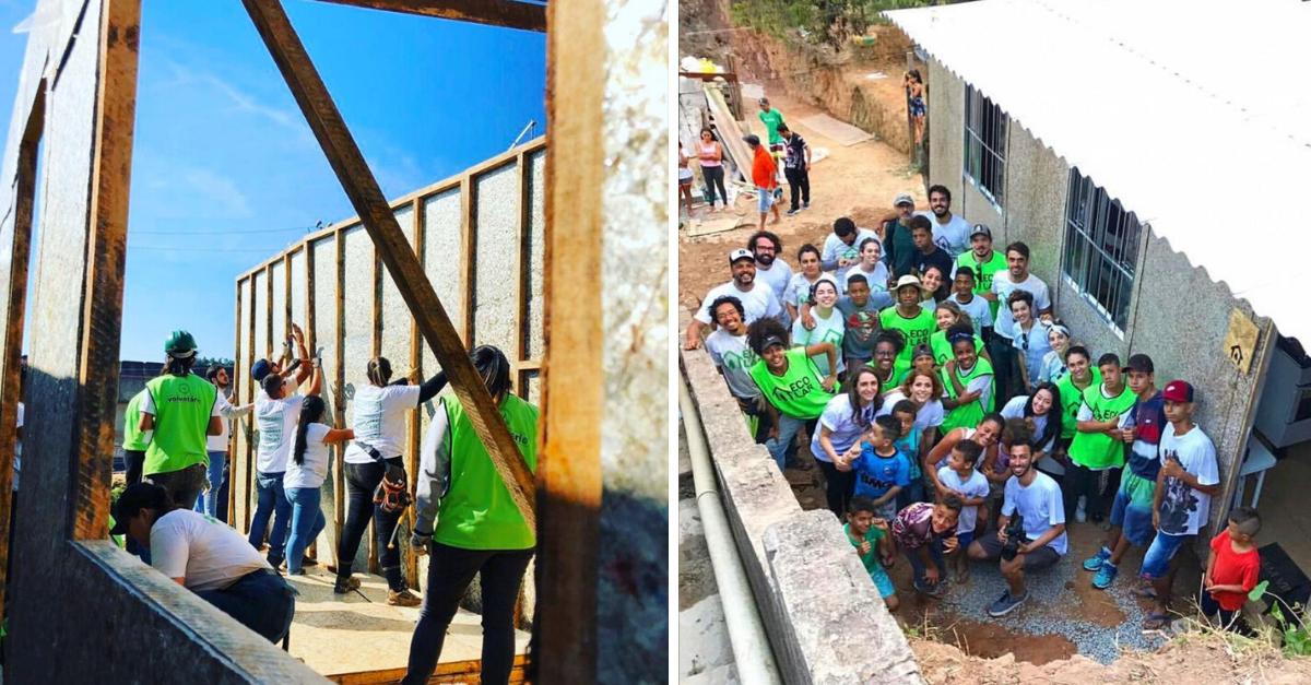 Projeto constrói casas sustentáveis para famílias pobres em até dois dias 2