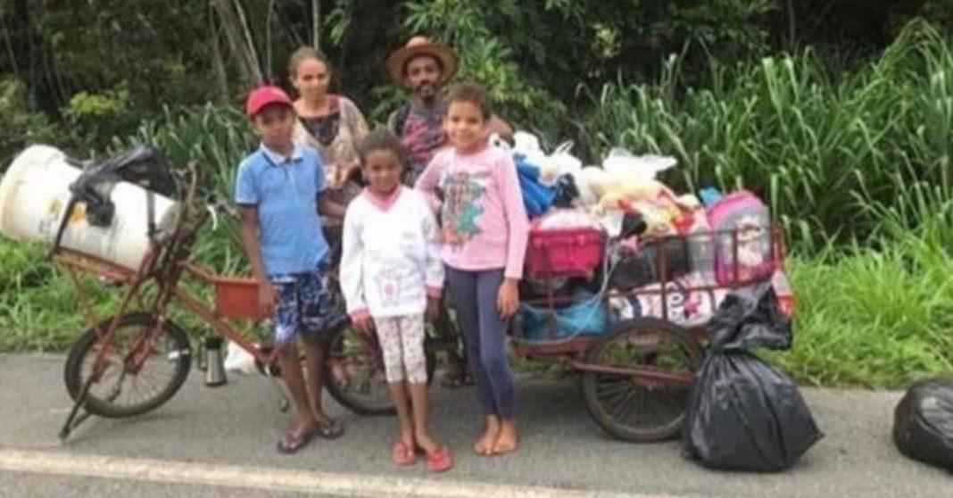 Família que andaria quase 4 mil km de Goiás à Roraima ganha passagens de ônibus 1