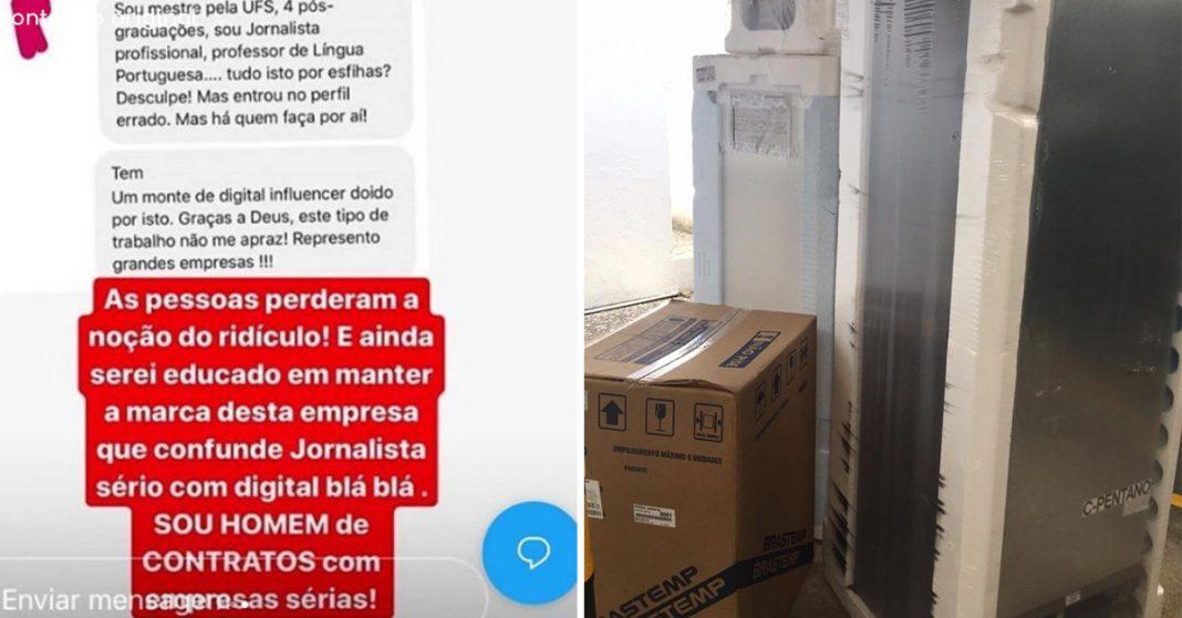 Esfiharia humilhada por jornalista ganha eletrodomésticos da Brastemp 3