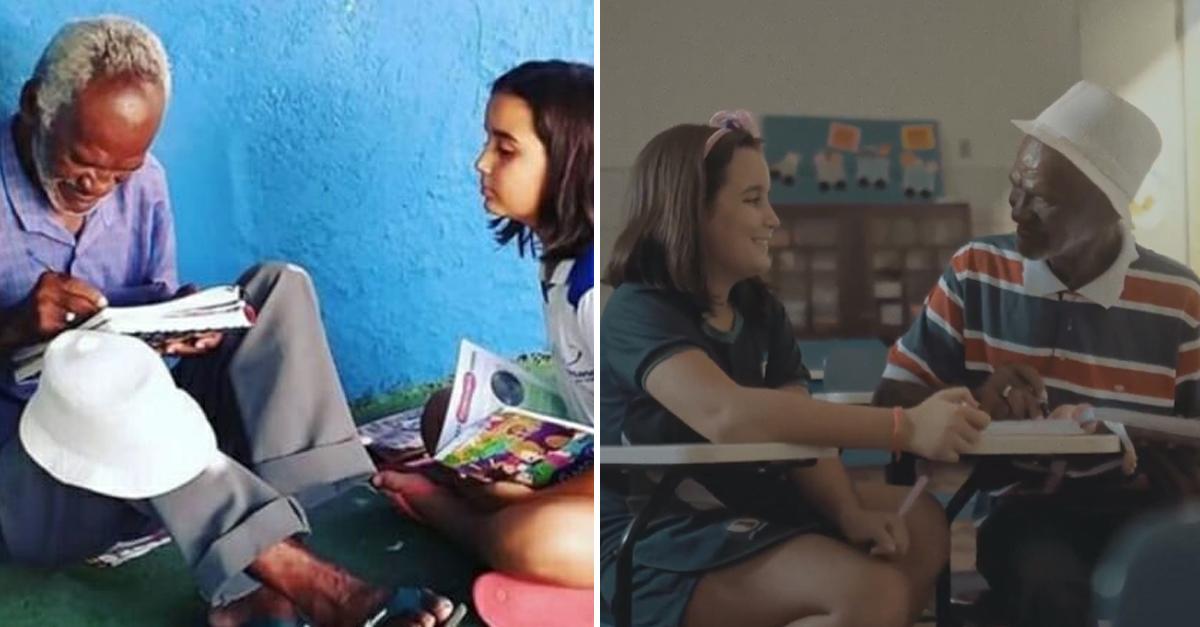 Aos 9 anos de idade, menina ensinou vendedor de picolé a ler e escrever 1