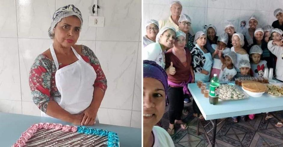 Confeiteira cria curso gratuito para profissionalizar mães desempregadas em comunidade carente 2