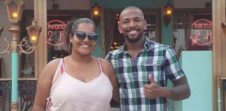 Nego do Borel faz amizade com mulher levou bolo oferece ajuda