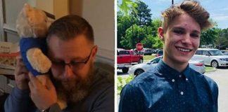 Pai recebe ursinho de pelúcia batimentos cardíacos filho falecido