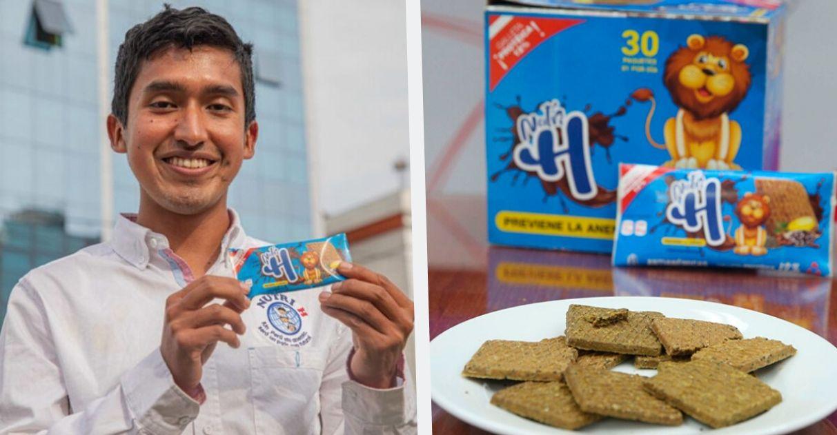Engenheiro peruano cria biscoito elimina anemia infantil