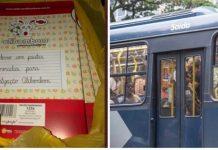 Rapaz cria corrente achar dona material escolar esquecido ônibus