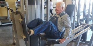 Idoso de 91 anos que faz academia vira influenciador