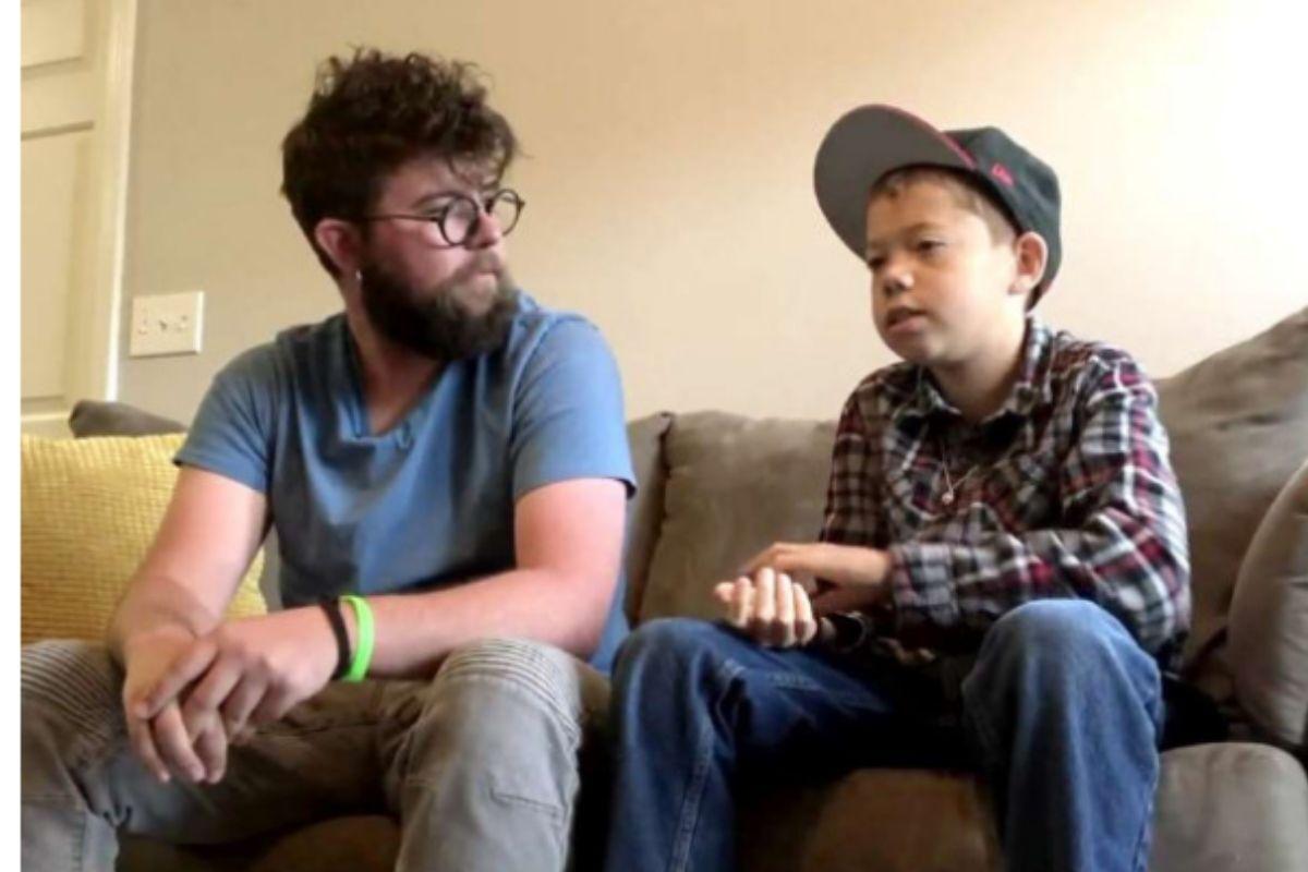 professor adota menino órfão que precisava transplante