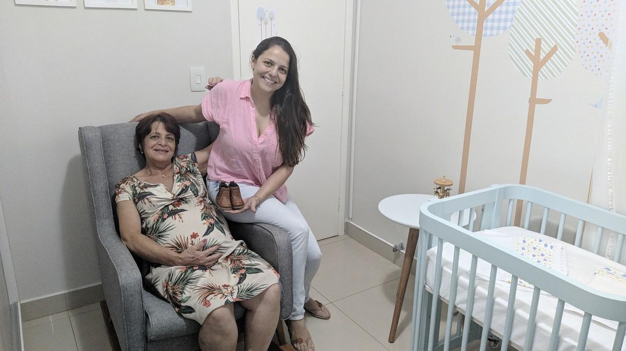 Enfermeira perdeu útero câncer filho gerado pela mãe