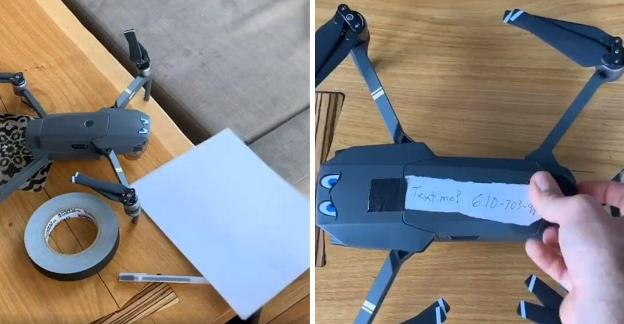 quarentena jovens usam drone FaceTime encontro virtual