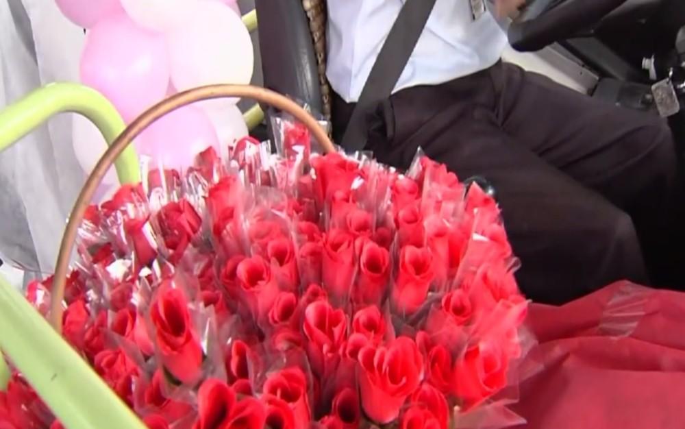 flores rosa