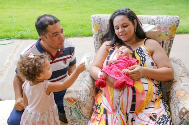 Preocupado com esposa e filha recém-nascida, motorista pede calma em aviso carinhoso 4
