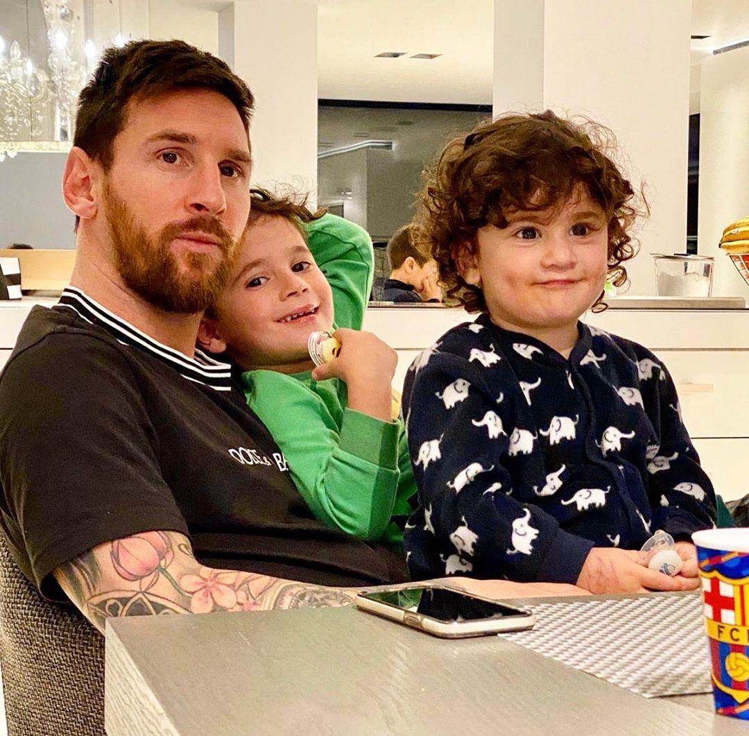 Lionel e filhos em casa pandemia coronavírus